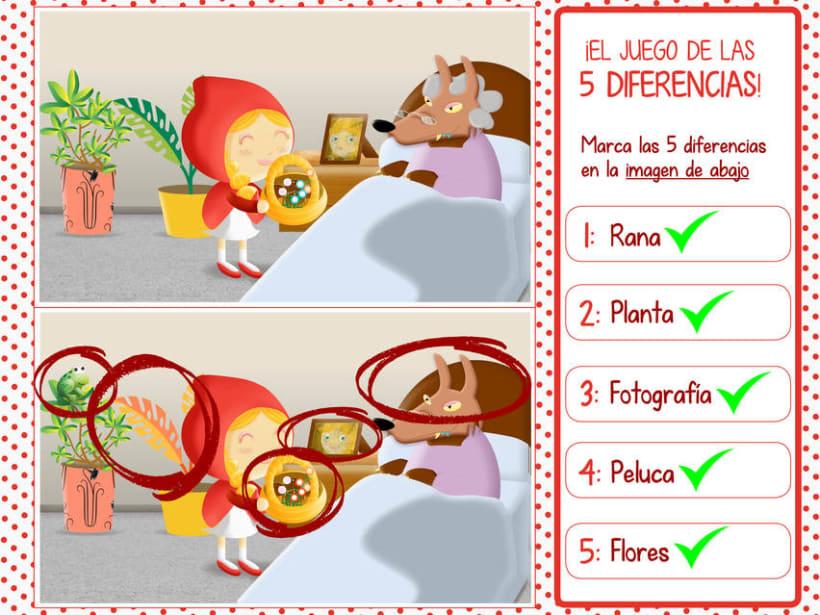 """Cuento infantil interactivo """"Caperucita Roja"""" 28"""