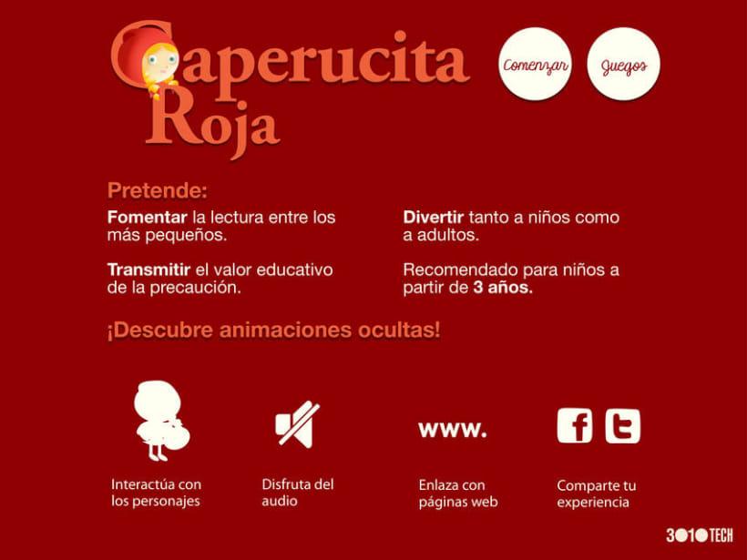 """Cuento infantil interactivo """"Caperucita Roja"""" 5"""