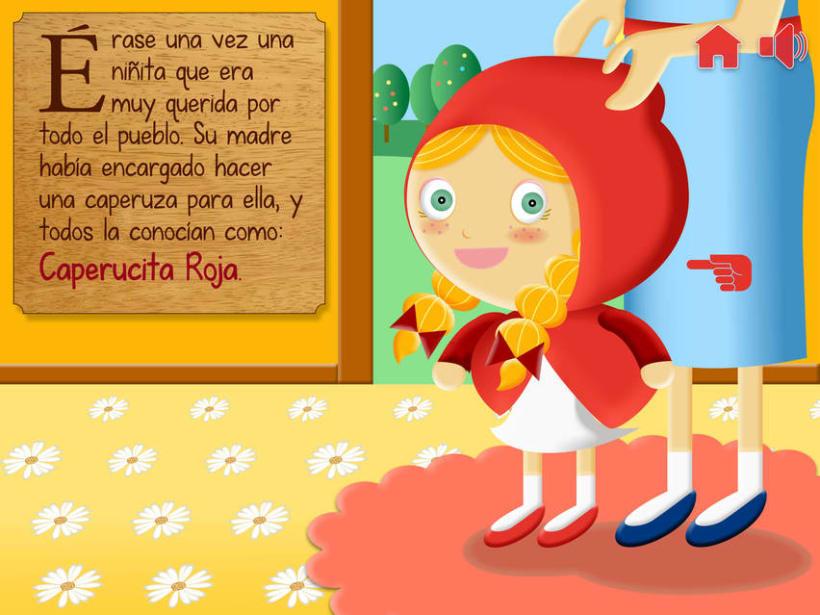 """Cuento infantil interactivo """"Caperucita Roja"""" 7"""