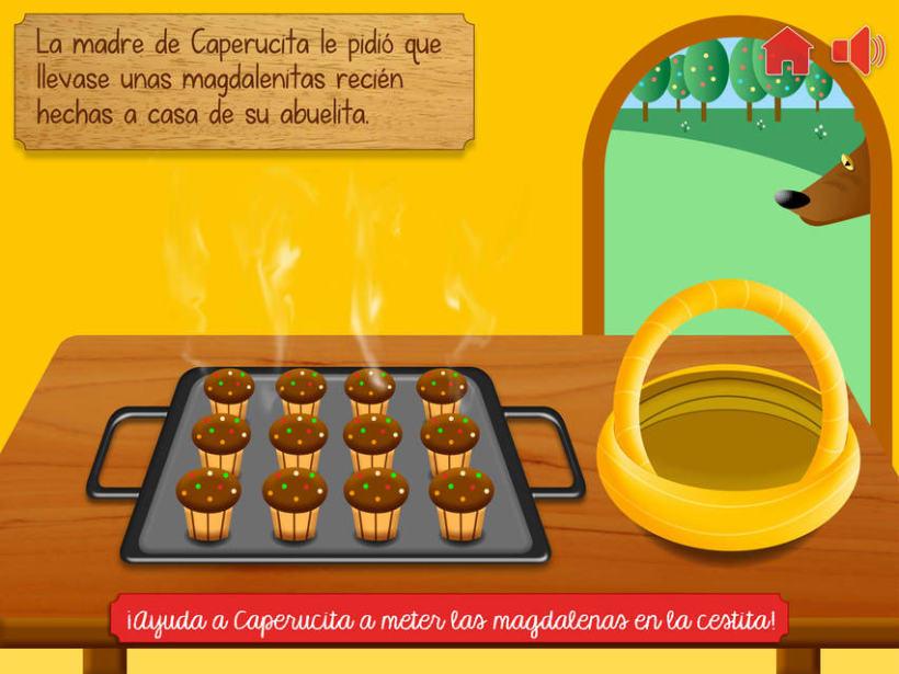 """Cuento infantil interactivo """"Caperucita Roja"""" 8"""