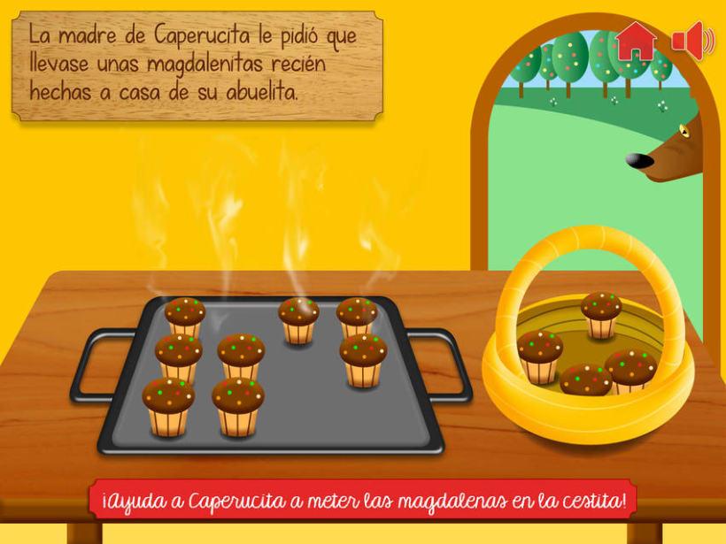 """Cuento infantil interactivo """"Caperucita Roja"""" 9"""