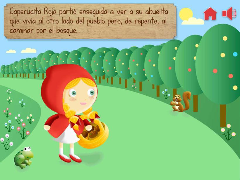 """Cuento infantil interactivo """"Caperucita Roja"""" 10"""