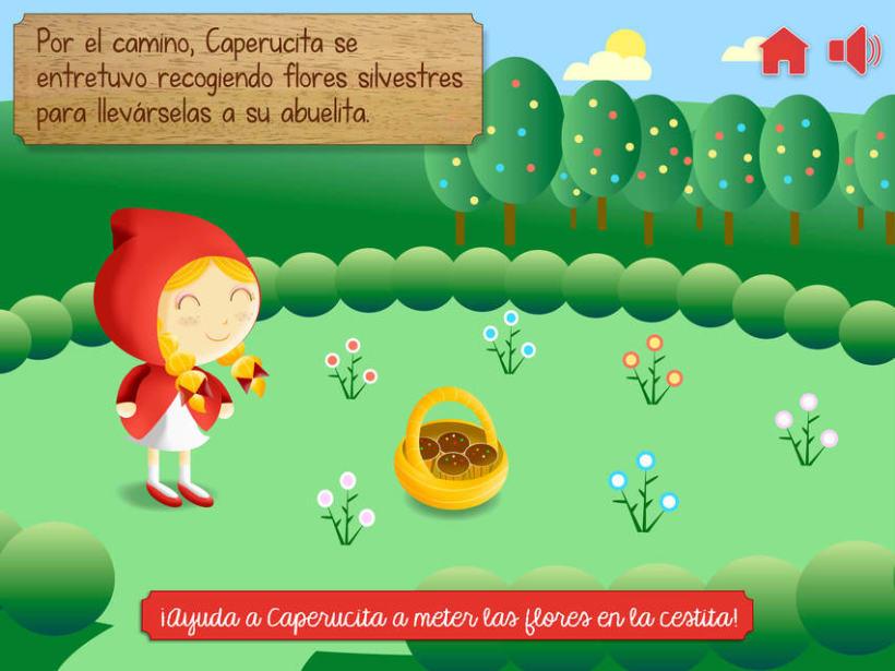 """Cuento infantil interactivo """"Caperucita Roja"""" 13"""