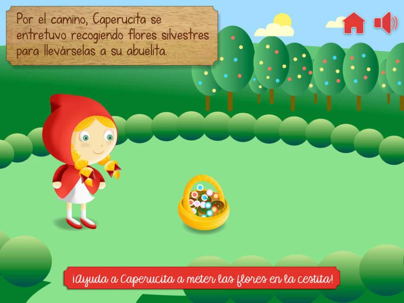 """Cuento infantil interactivo """"Caperucita Roja"""" 14"""