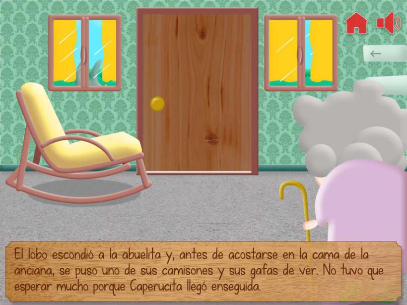 """Cuento infantil interactivo """"Caperucita Roja"""" 15"""