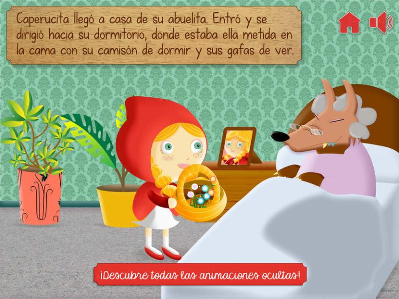 """Cuento infantil interactivo """"Caperucita Roja"""" 17"""