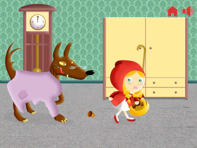 """Cuento infantil interactivo """"Caperucita Roja"""" 19"""