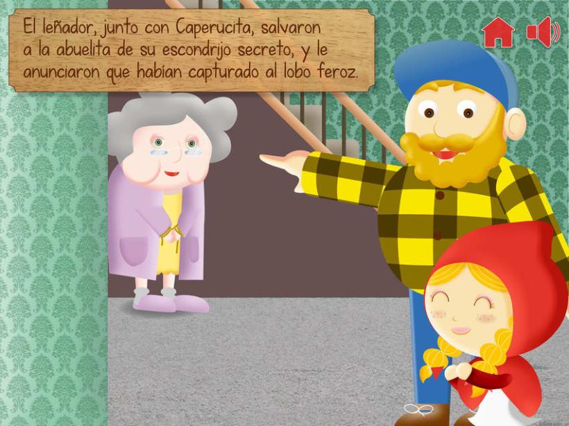 """Cuento infantil interactivo """"Caperucita Roja"""" 22"""