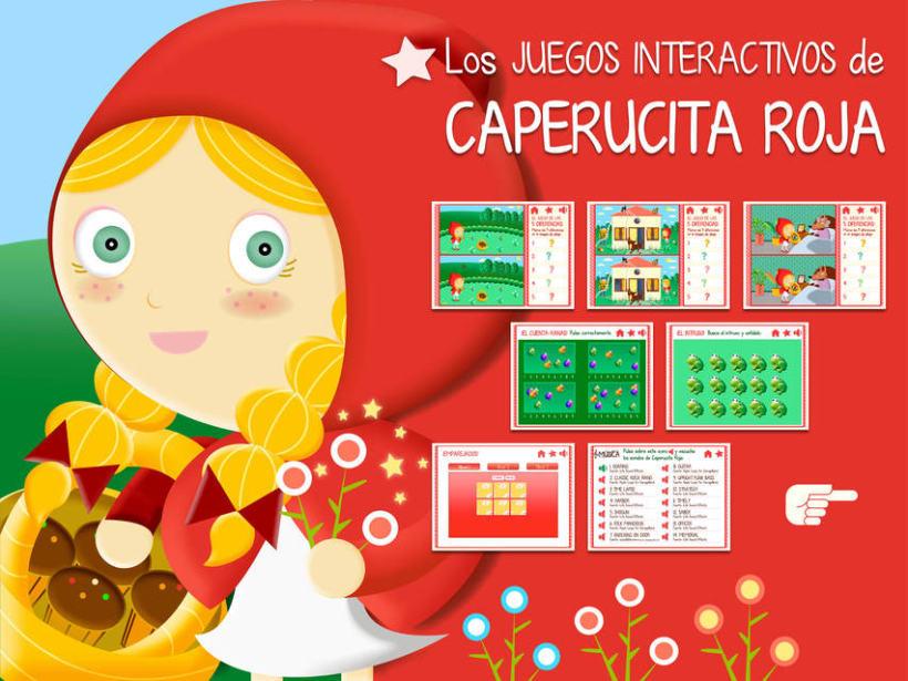 """Cuento infantil interactivo """"Caperucita Roja"""" 25"""