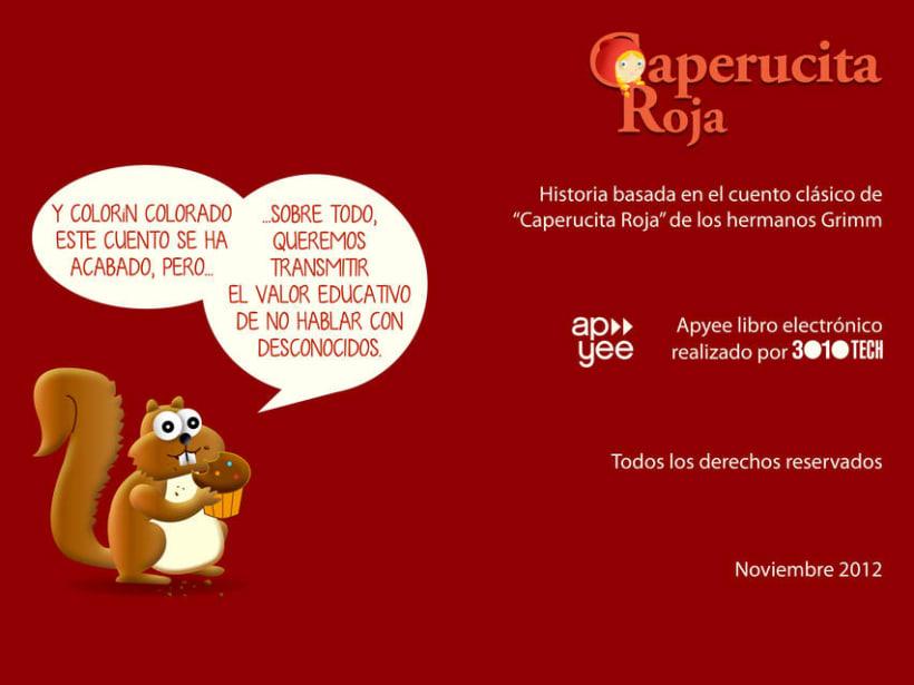 """Cuento infantil interactivo """"Caperucita Roja"""" 24"""