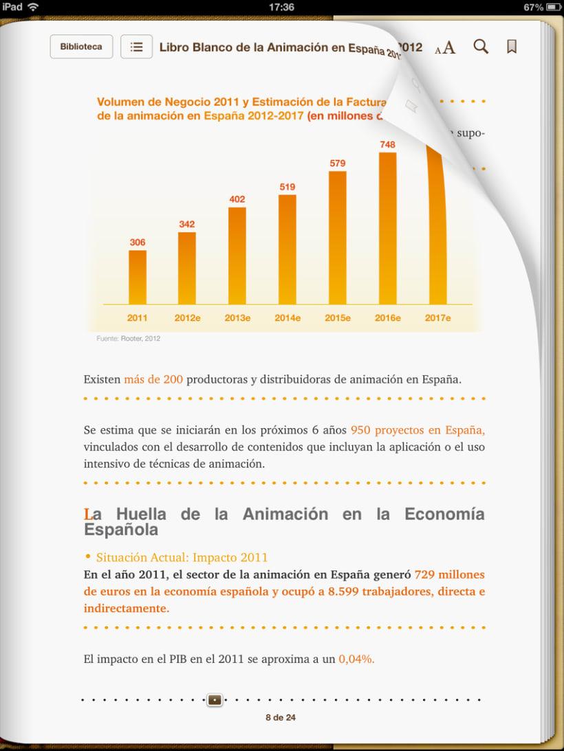 """Epub 2.0 """"Libro blanco del sector de la animación en España 2012"""" 2"""