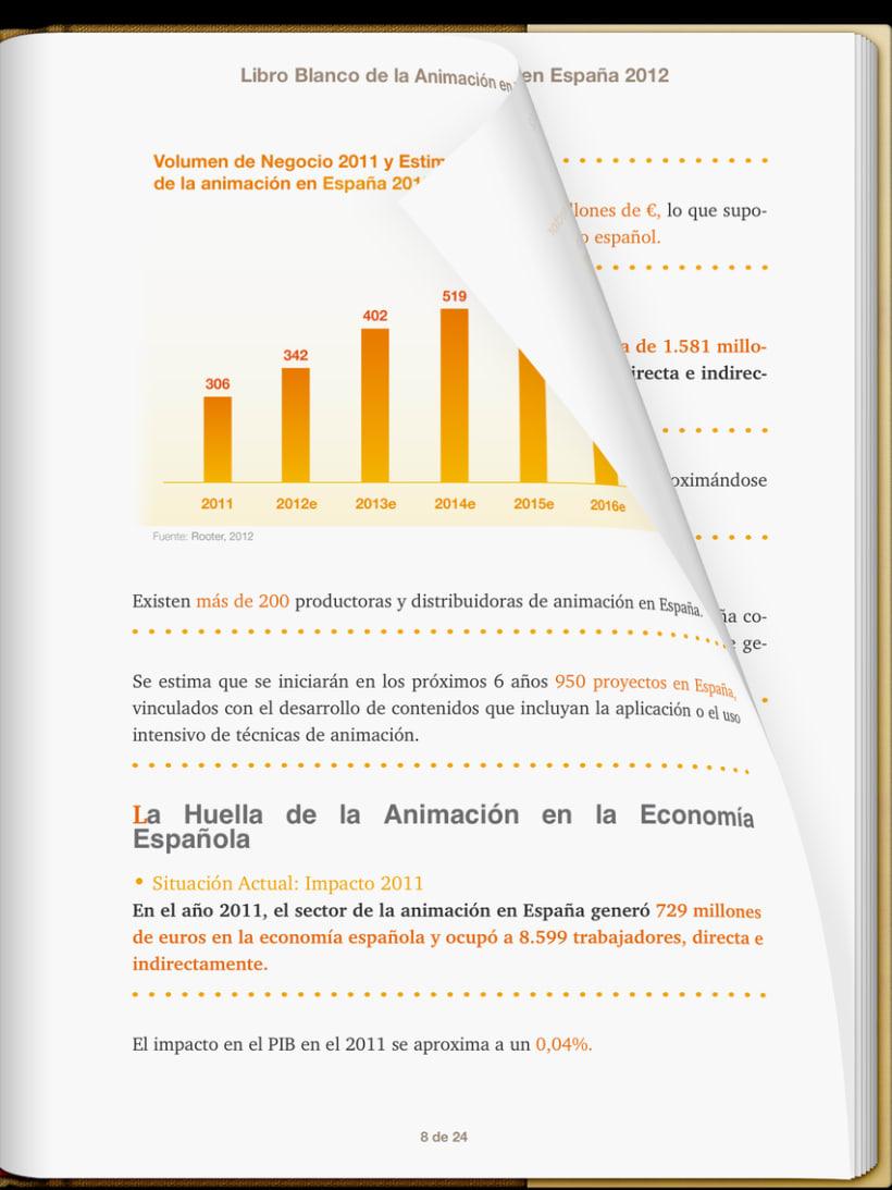 """Epub 2.0 """"Libro blanco del sector de la animación en España 2012"""" 3"""