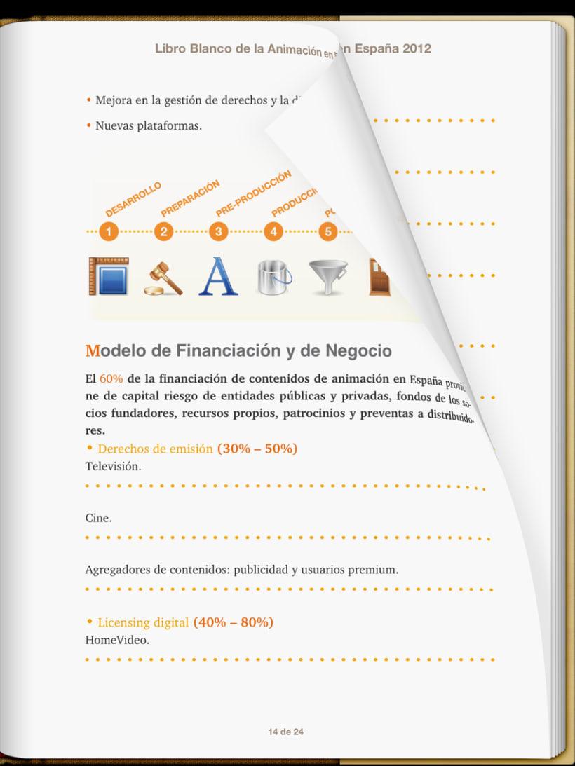 """Epub 2.0 """"Libro blanco del sector de la animación en España 2012"""" 5"""