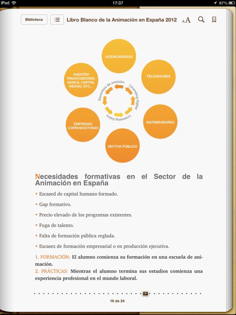 """Epub 2.0 """"Libro blanco del sector de la animación en España 2012"""" 6"""
