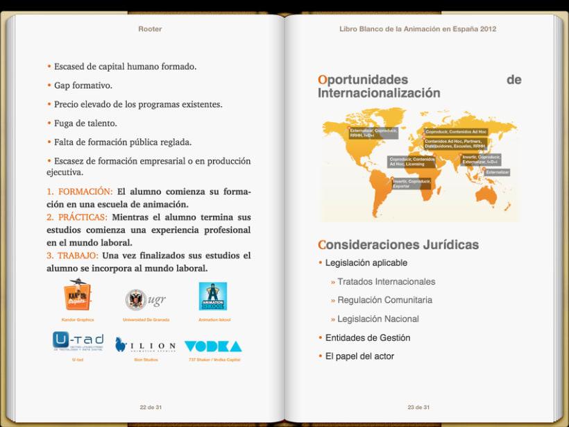 """Epub 2.0 """"Libro blanco del sector de la animación en España 2012"""" 7"""