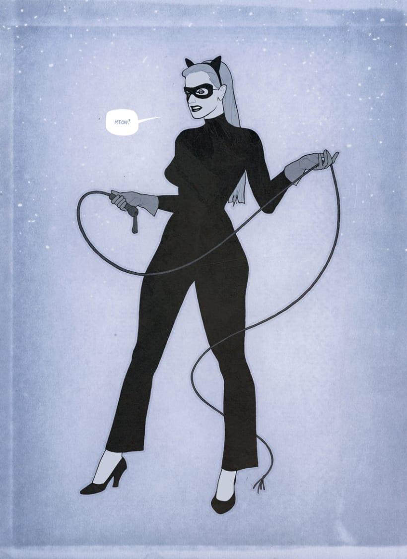Retro Catwoman -1