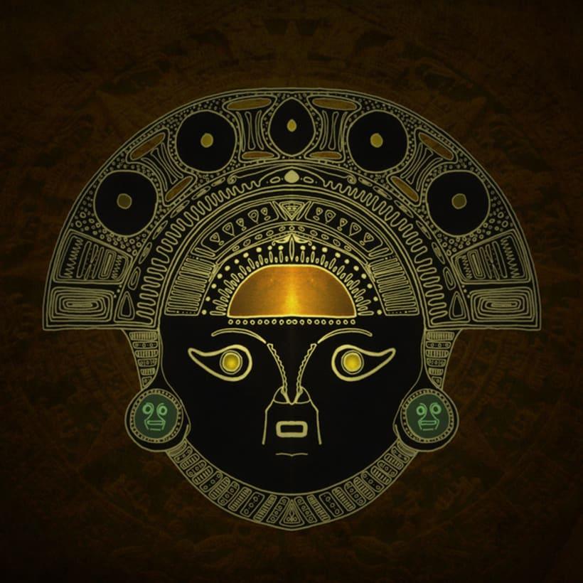 Masks, sacred scarab and Ornate spirituality 7