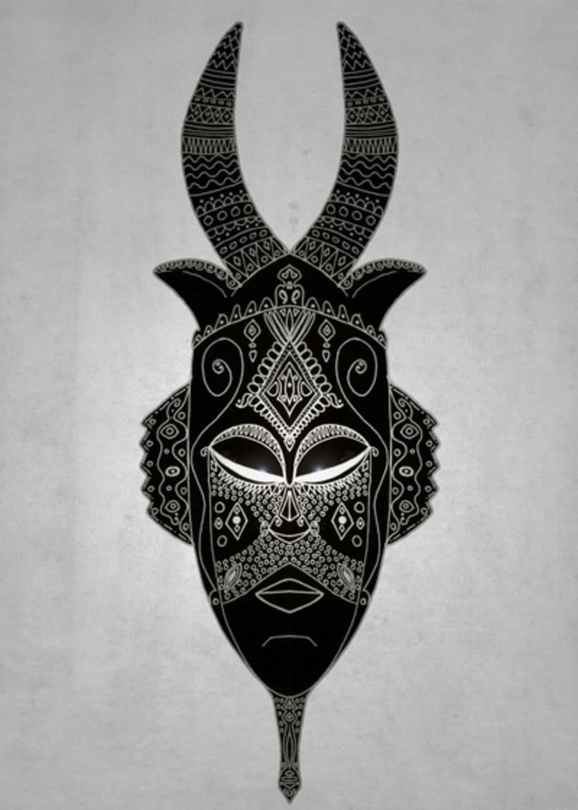Masks, sacred scarab and Ornate spirituality 1