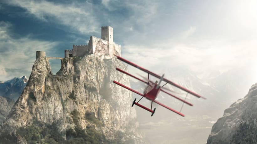 Red Baron Compositing + Breakdown 1