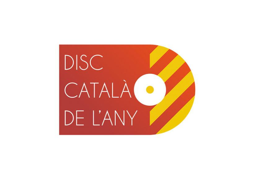 Logo Disc Català de l'Any 0