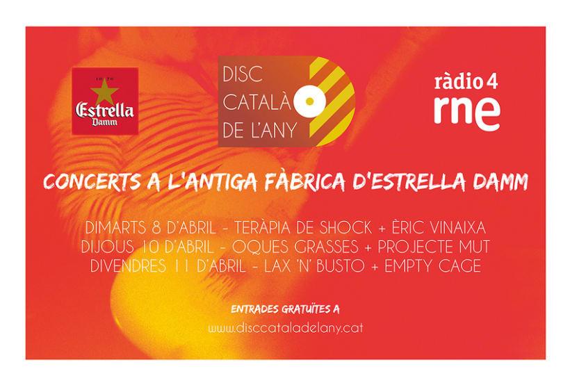 Logo Disc Català de l'Any 2