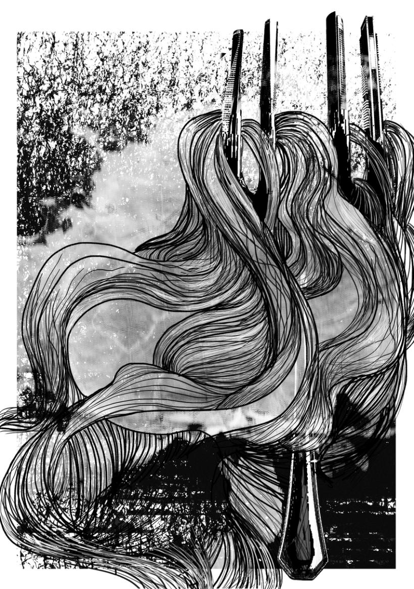 "Dibujos para fanzine ""Choucrute"" -1"