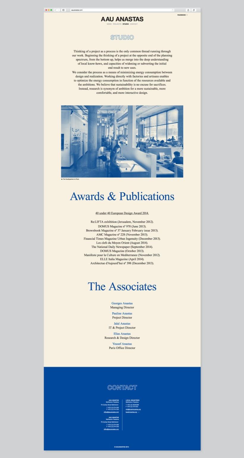 Estudio de arquitectura AAU ANASTAS 6