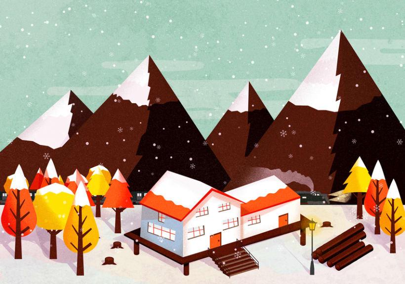 snowy autumn 1