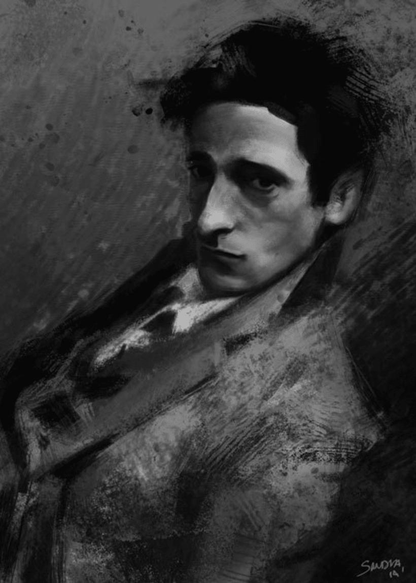 Portrait study - Adrien 0