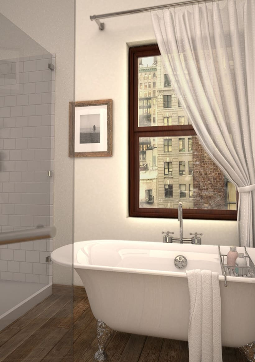 Apartment in the city -1