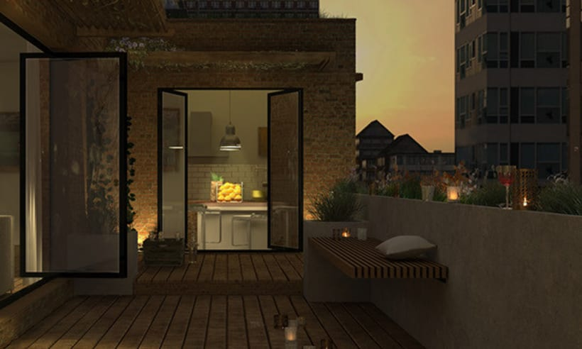 Apartment in the city 2