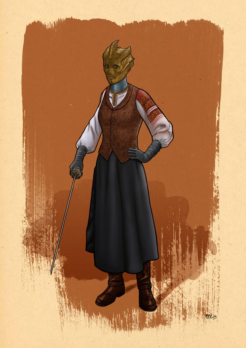 Madame Vastra 1