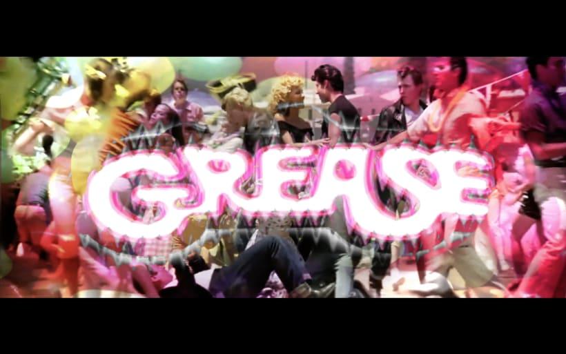 """Videoclip de la pelicula """"Grease"""" 0"""