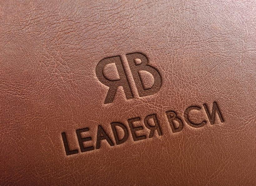 Propuesta de diseño de imagen corporativa y logotipo para la empresa de moda femenina Leader BCN. -1