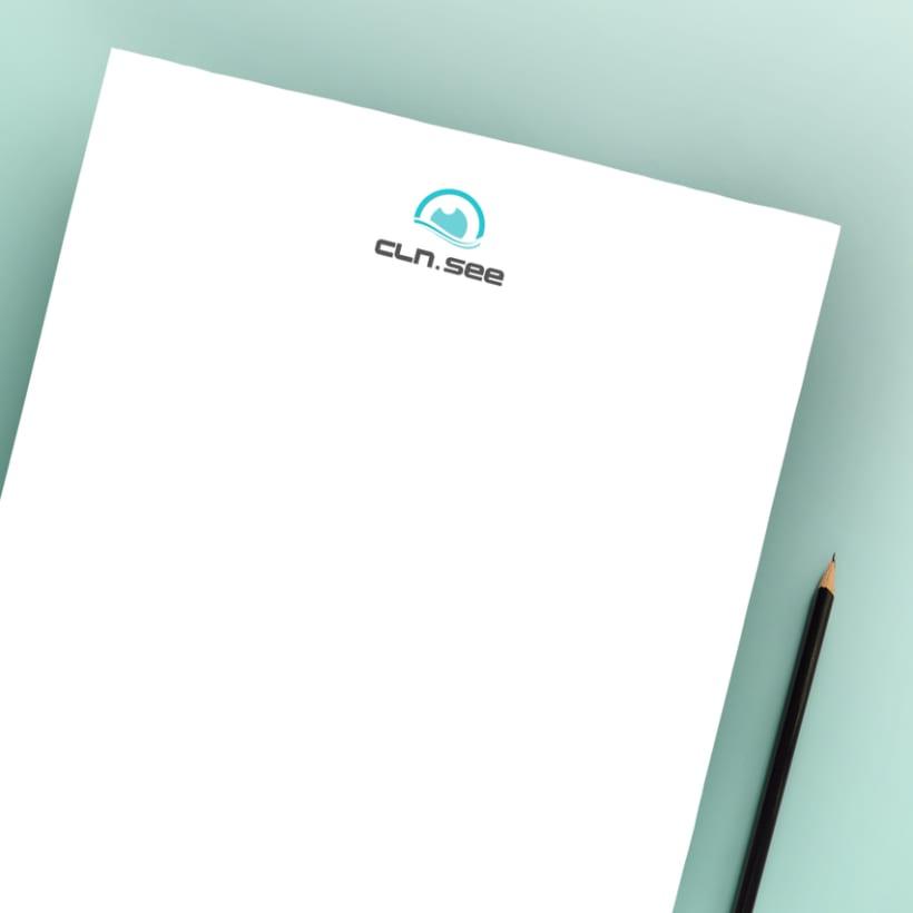 Diseño Logo marca de gafas 0
