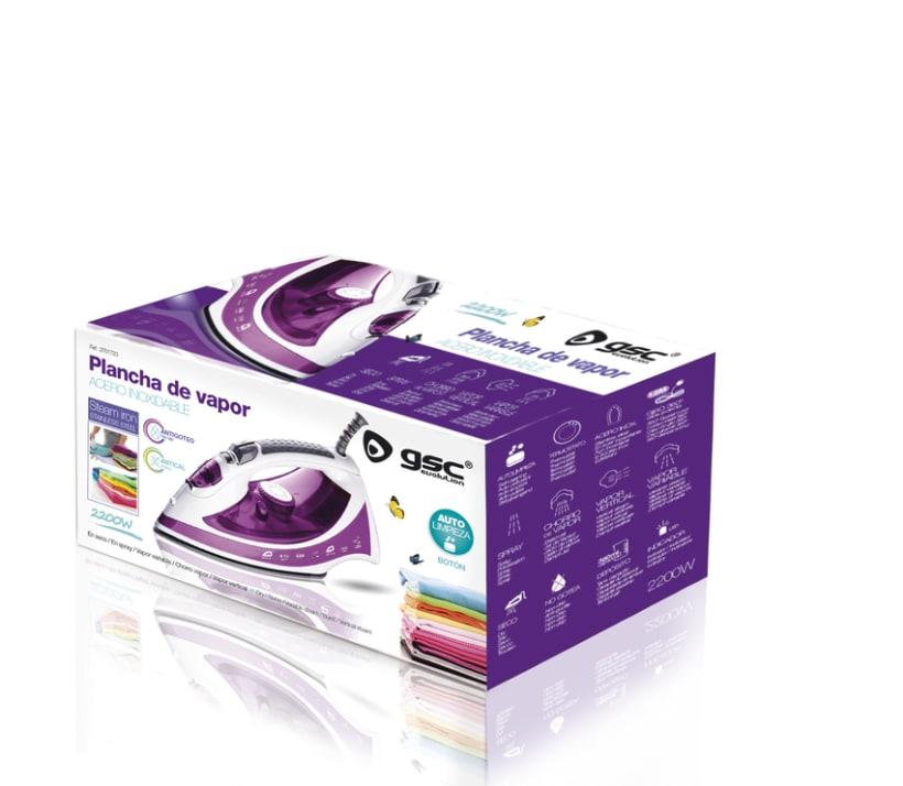 Packaging Plancha vapor GSC 0