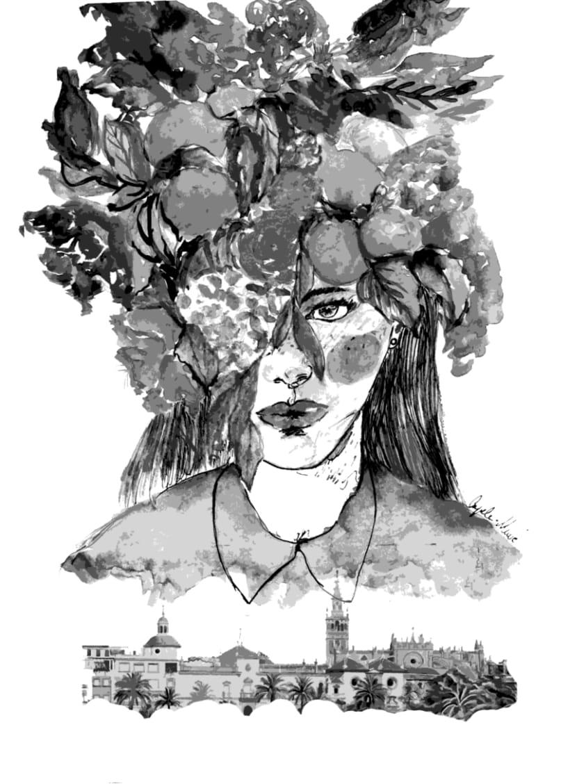 Mujer de Sevilla -1