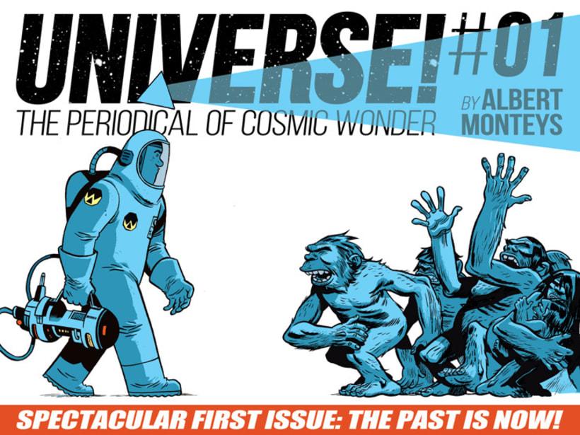 Universe un cómic de Albert Monteys 1