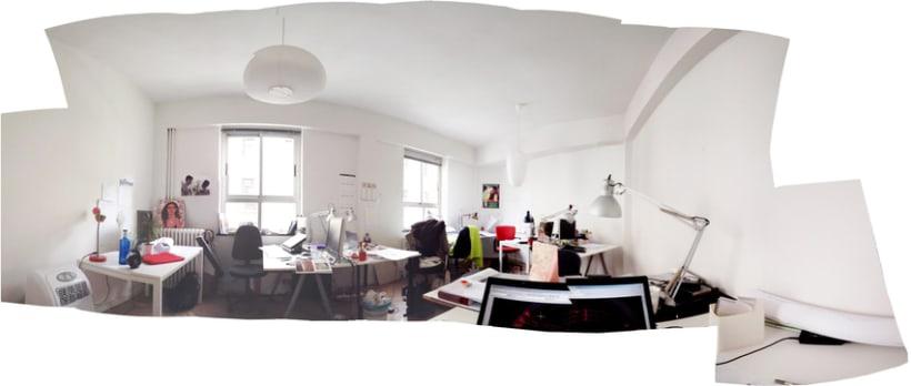 Espacio de trabajo en calle Montera (Madrid) 85 euros. Coworking centro 1