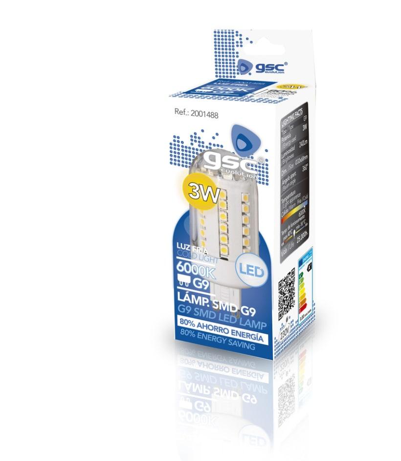 Packaging LED 2