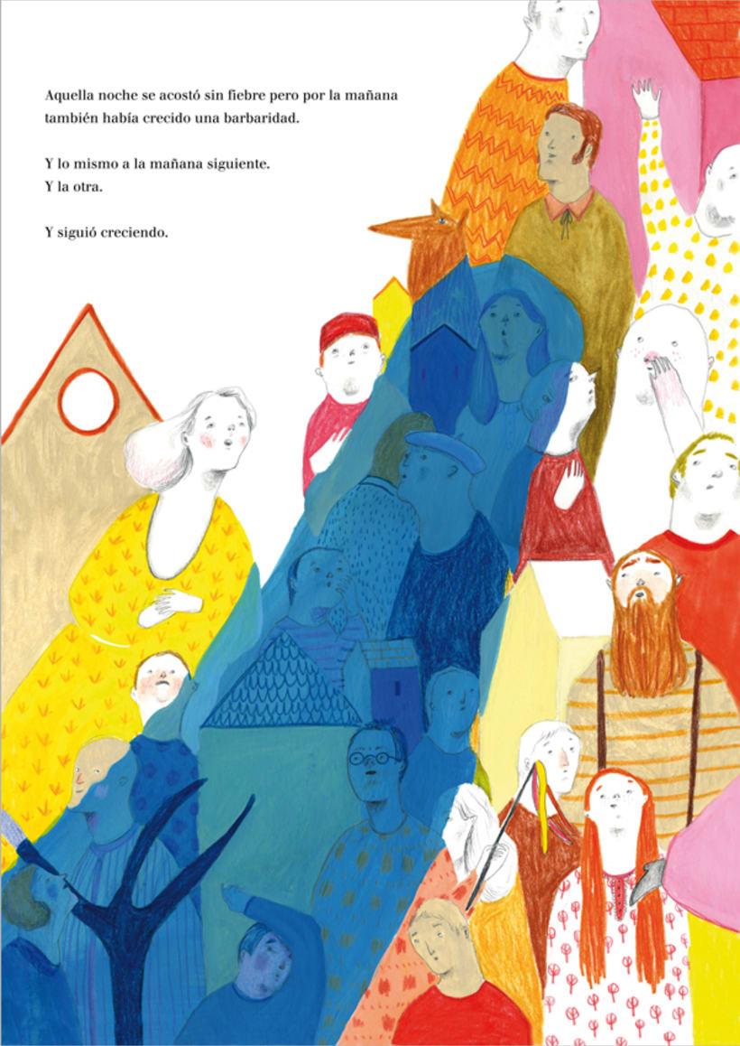 """Premio Lazarillo 2013. """"La mujer más alta del mundo"""" 7"""