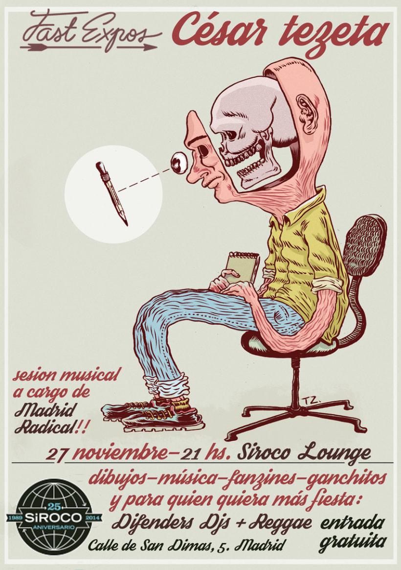 Exposition- Siroco Lounge - 27 Noviembre 2014 0