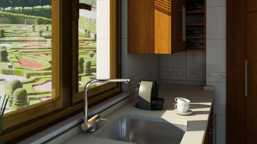 Cocina 3D 9