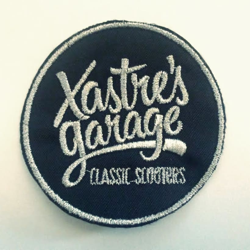 Xastre's garage. Classic scooters 7