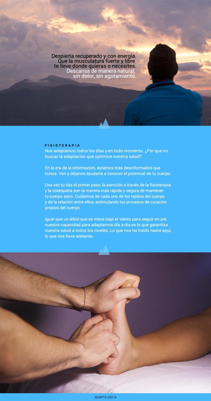 Imagen corporativa y web - Adapta Fisioterapia 7