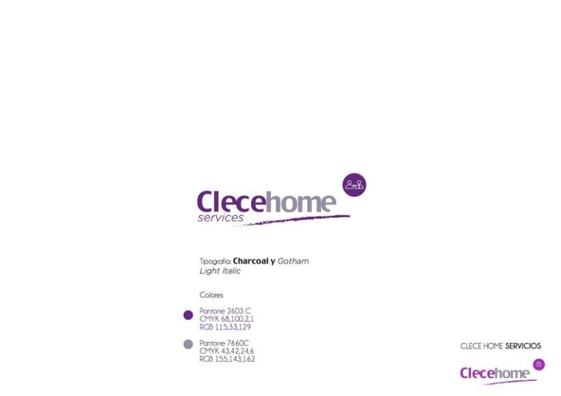 Diseño imagen gráfica y logotipo para la 1ª tienda Clecehome. Madrid 2014 4