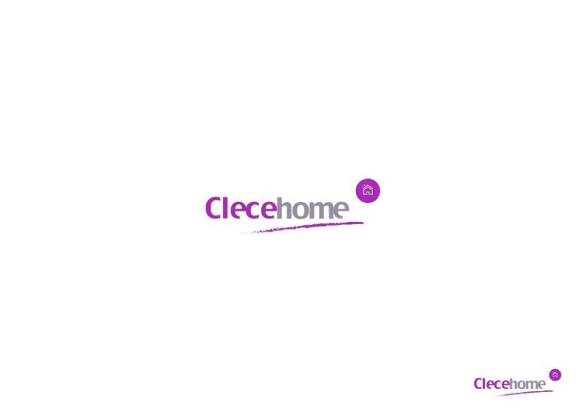Diseño imagen gráfica y logotipo para la 1ª tienda Clecehome. Madrid 2014 1
