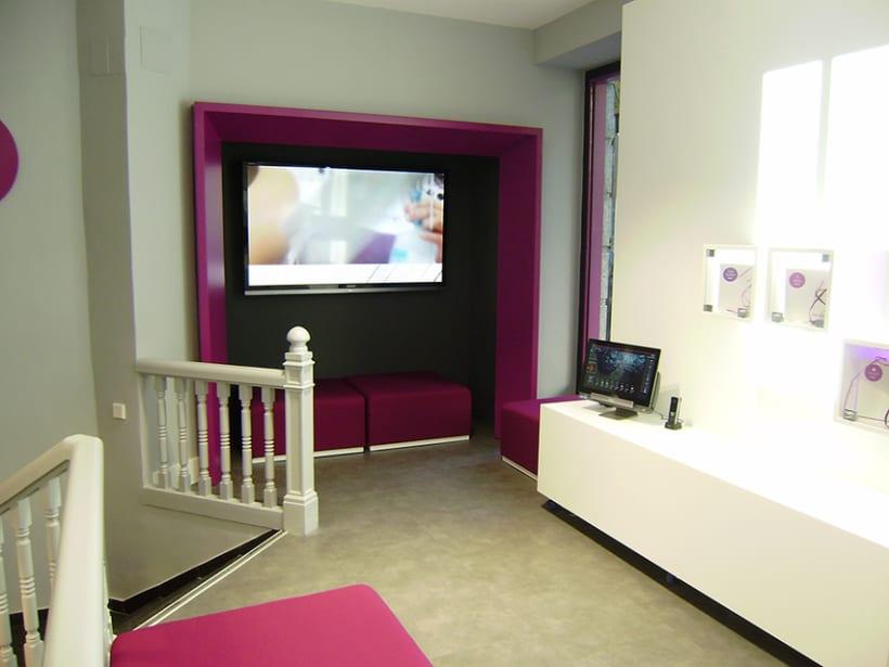 Diseño de interiores y supervisión obra 1ª tienda Clecehome. Madrid 2014. 3