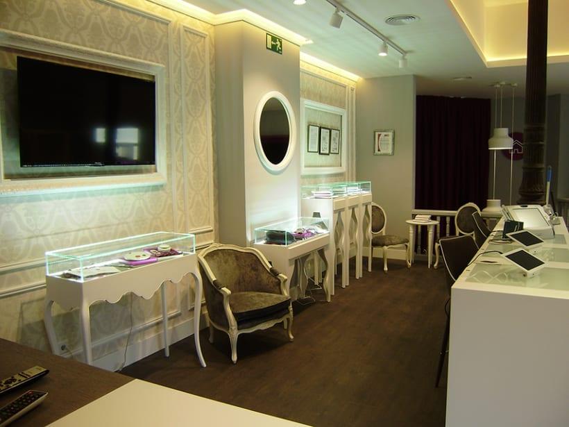 Diseño de interiores y supervisión obra 1ª tienda Clecehome. Madrid 2014. 6