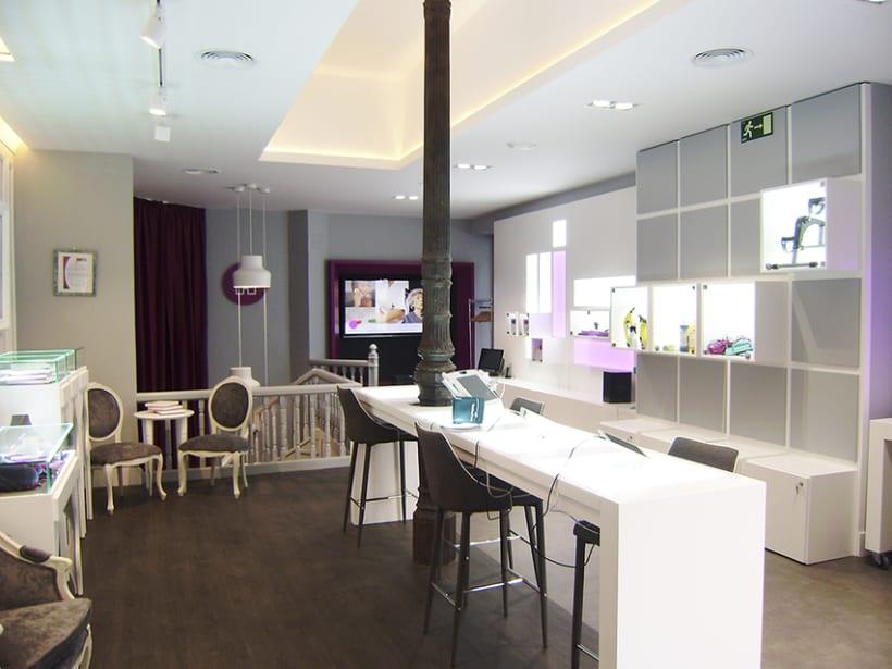 Diseño de interiores y supervisión obra 1ª tienda Clecehome. Madrid 2014. 11
